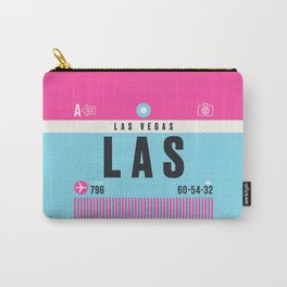 Luggage Tag A - LAS Las Vegas USA Carry-All Pouch