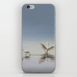 Egret Wings iPhone Skin