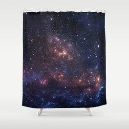 Stars and Nebula Shower Curtain