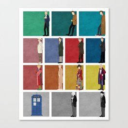 Doctor Who? Canvas Print