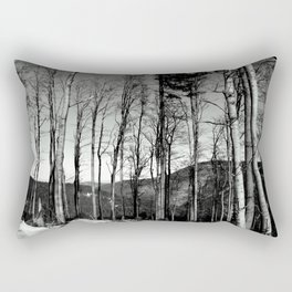 Hills and trees Rectangular Pillow