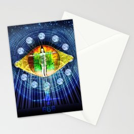 The Mark of a Man Stationery Cards