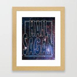 Hail Sagan - V1 Framed Art Print