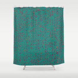 Hieroglyphics HOT Shower Curtain