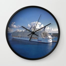 Oasis of the Seas - Cozumel Wall Clock