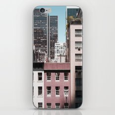 view of NYC from a MoMa window... iPhone & iPod Skin