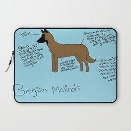 Belgian Malinois Laptop Sleeve