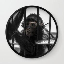 Monkey 4 Wall Clock