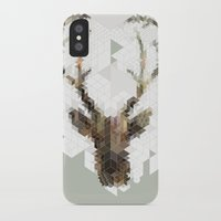 architect iPhone & iPod Cases featuring Deer Architect by Angelo Cerantola