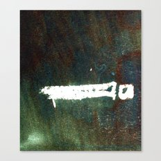 match stick on ink Canvas Print
