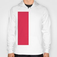 poland Hoodies featuring Flag of Poland by Neville Hawkins