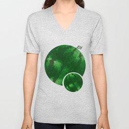 Double Watermelon Tet Holiday Vietnam Lunar New Year Unisex V-Neck
