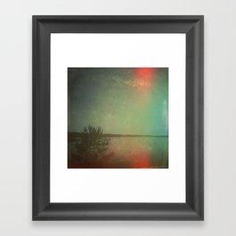 The Land I Wander in My Dreams Framed Art Print