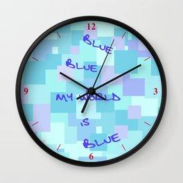 Aquasquare Cubed Wall Clock