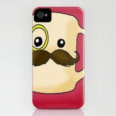 Mustache Mug Slim Case iPhone (4, 4s)