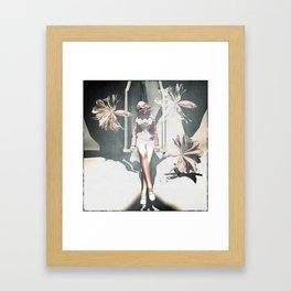 Fish Tail Framed Art Print