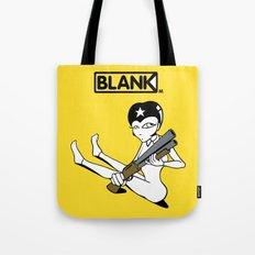 BLANKM GEAR - SHOTGUN GIRL T SHIRT Tote Bag