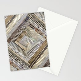 Skyscraper Quilt Stationery Cards