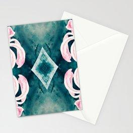 Blue Washout Stationery Cards