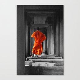 Saffron Portrait II Canvas Print