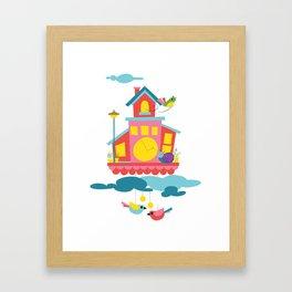 Cuckoo time Framed Art Print