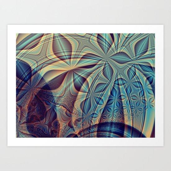 Bluesy Art Print