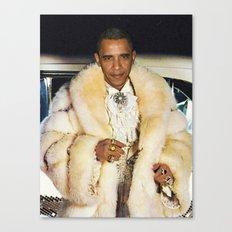 Fabulous Obama Canvas Print