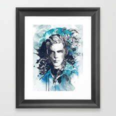 Lovely Boys Series No.2 Framed Art Print