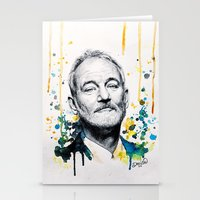 murray Stationery Cards featuring Bill Murray by Denise Esposito