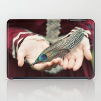 feather iPad Cases featuring feather by elle moss