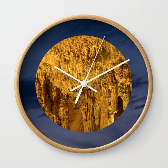 Little Planet #04 Wall Clock