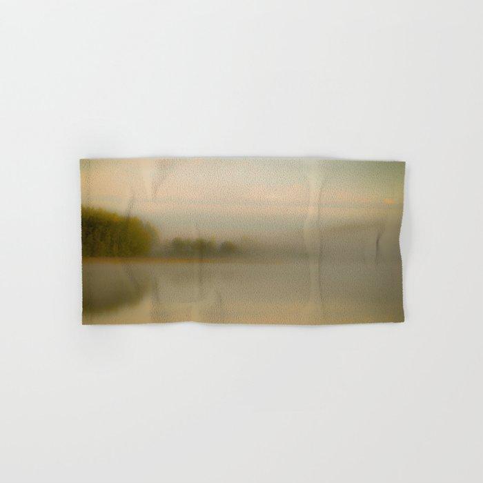 Misty Autumn Morning #decor #buyart #society6 Hand & Bath Towel