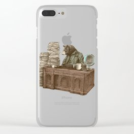 Bearocrat Clear iPhone Case