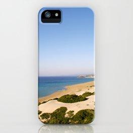 Golden Beach in Cyprus iPhone Case