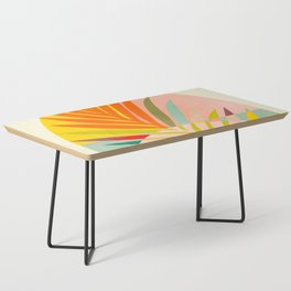 minimal leave tropical spring Coffee Table