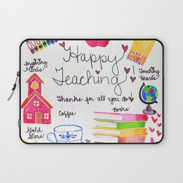 Happy Teaching Laptop Sleeve