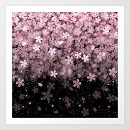 Cherry blossom #11 Art Print