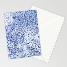 BLue Blizzard Mandalas Stationery Cards