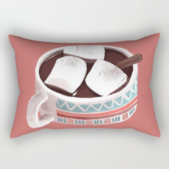 Hot Chocolate Rectangular Pillow