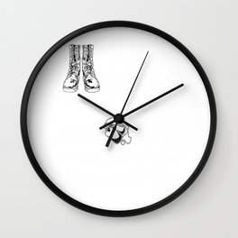 Female Veteran from Delaware Gift for Delawarean Woman Veteran Wall Clock