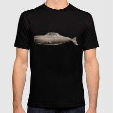 the Buick of the sea MEDIUM Black Mens Fitted Tee