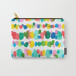 Paradise Dots Carry-All Pouch