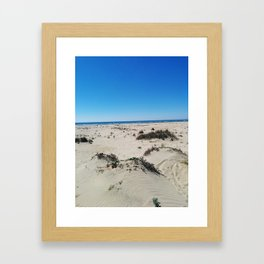 Beach. Huelva Framed Art Print