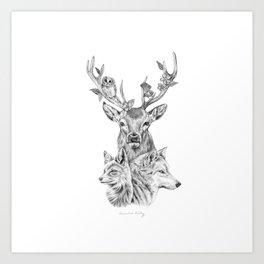 Kin Art Print