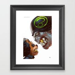 Bo: Plushy Gangsta variant cover Framed Art Print