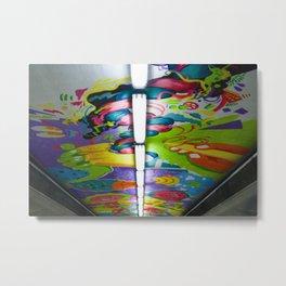 Art underpass Metal Print