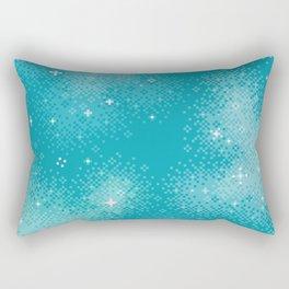 Winter Nebula Rectangular Pillow