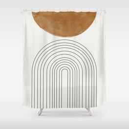 Minimalist Space Shower Curtain