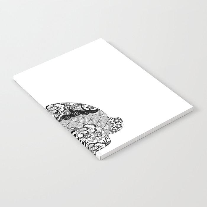 Rabbit floral Notebook