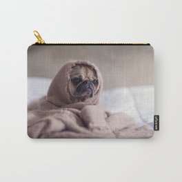 sad dog Carry-All Pouch